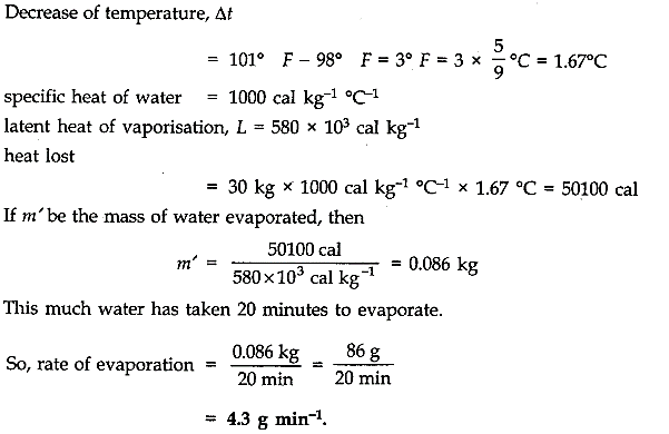 NCERT Solutions for Class 11 Physics Chapter 11 Thermal Properties of matter Q18