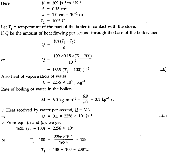 NCERT Solutions for Class 11 Physics Chapter 11 Thermal Properties of matter Q20