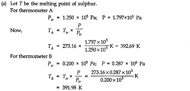 NCERT Solutions for Class 11 Physics Chapter 11 Thermal Properties of matter Q5.1