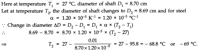 NCERT Solutions for Class 11 Physics Chapter 11 Thermal Properties of matter Q7