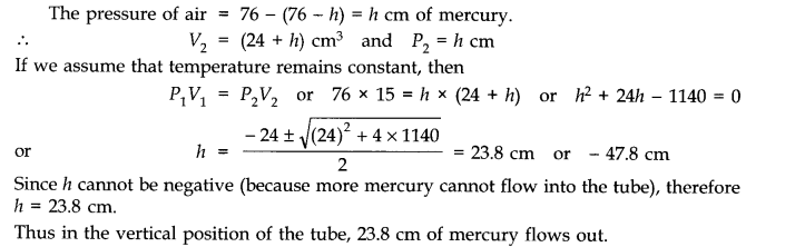 NCERT Solutions for Class 11 Physics Chapter 13 Kinetic Theory Q11.1
