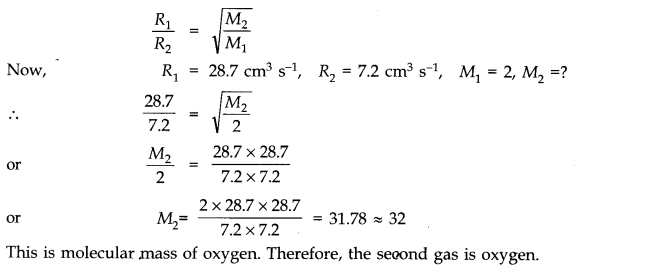 NCERT Solutions for Class 11 Physics Chapter 13 Kinetic Theory Q12