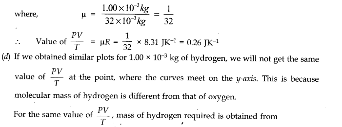 NCERT Solutions for Class 11 Physics Chapter 13 Kinetic Theory Q3.1