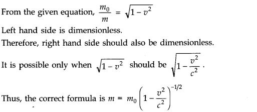 NCERT Solutions for Class 11 Physics Chapter 2 Units and Measurements Q15.1