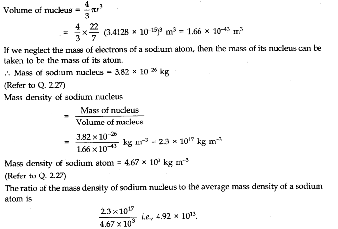 NCERT Solutions for Class 11 Physics Chapter 2 Units and Measurements Q28