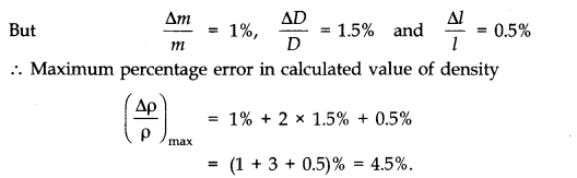 NCERT Solutions for Class 11 Physics Chapter 2 Units and Measurements Extra Questions SAQ Q10.1