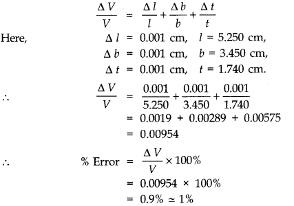NCERT Solutions for Class 11 Physics Chapter 2 Units and Measurements Extra Questions SAQ Q22