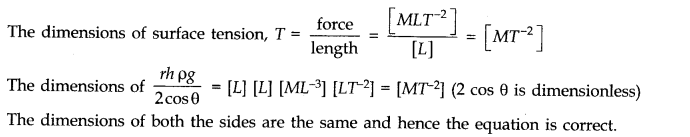 NCERT Solutions for Class 11 Physics Chapter 2 Units and Measurements Extra Questions SAQ Q24