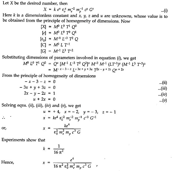 NCERT Solutions for Class 11 Physics Chapter 2 Units and Measurements Extra Questions LAQ Q1