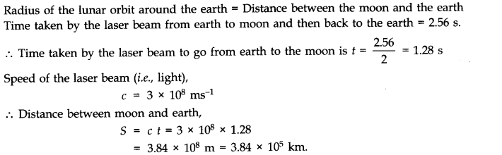 NCERT Solutions for Class 11 Physics Chapter 2 Units and Measurements Extra Questions HOTS Q1