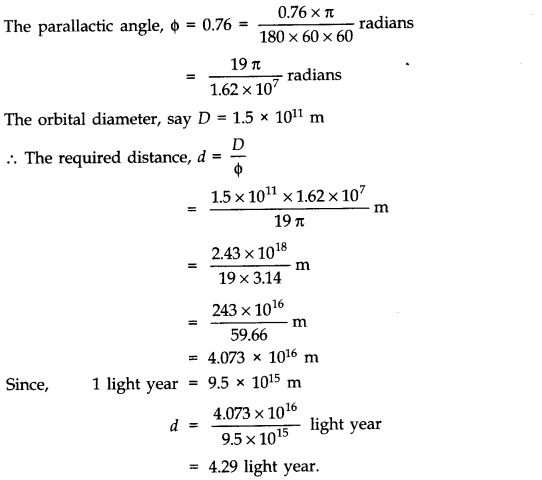 NCERT Solutions for Class 11 Physics Chapter 2 Units and Measurements Extra Questions HOTS Q2