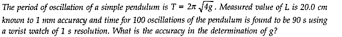 NCERT Solutions for Class 11 Physics Chapter 2 Units and Measurements Extra Questions HOTS Q6