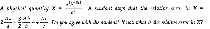 NCERT Solutions for Class 11 Physics Chapter 2 Units and Measurements Extra Questions HOTS Q8