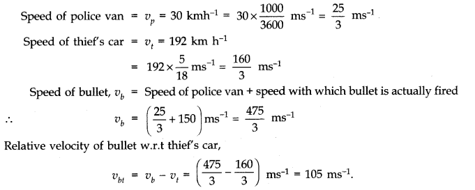 NCERT Solutions for Class 11 Physics Chapter 3 Motion in a Straight Line Q18
