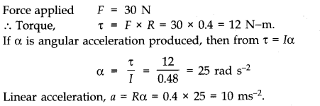 NCERT Solutions for Class 11 Physics Chapter 7 System of Particles and Rotational Motion Q14
