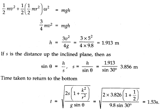 NCERT Solutions for Class 11 Physics Chapter 7 System of Particles and Rotational Motion Q21