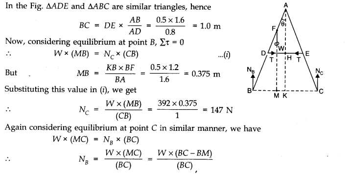 NCERT Solutions for Class 11 Physics Chapter 7 System of Particles and Rotational Motion Q22.1