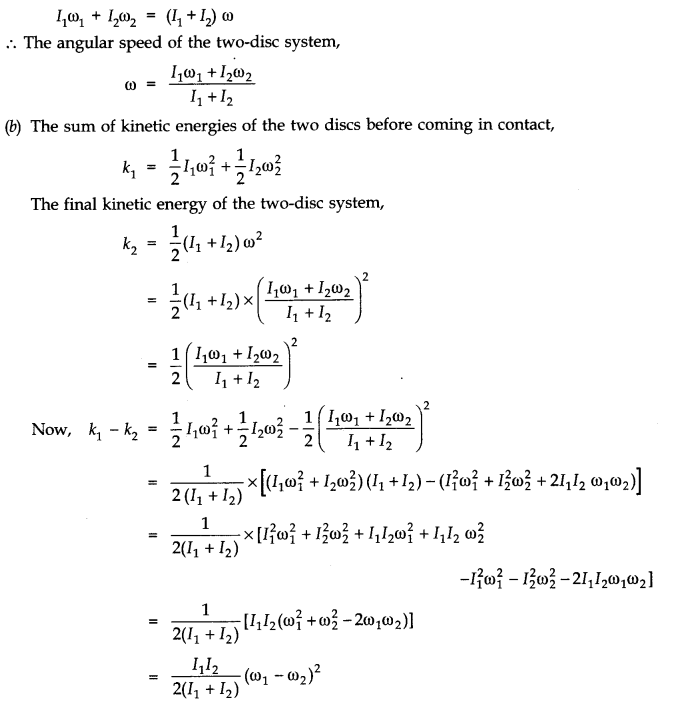 NCERT Solutions for Class 11 Physics Chapter 7 System of Particles and Rotational Motion Q25