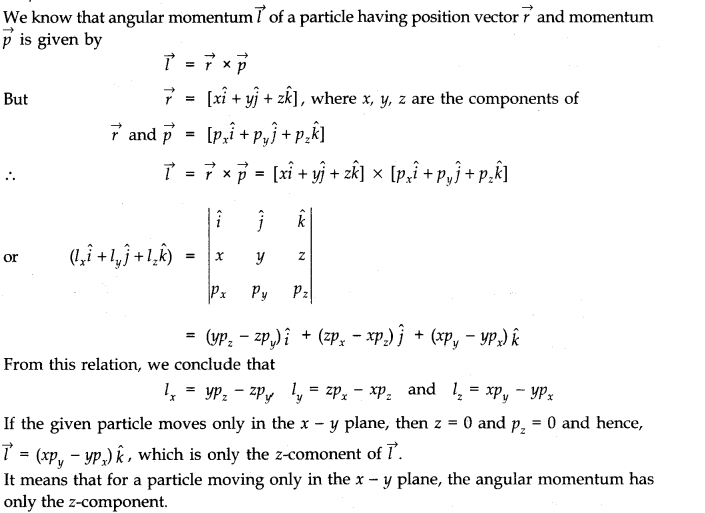 NCERT Solutions for Class 11 Physics Chapter 7 System of Particles and Rotational Motion Q6