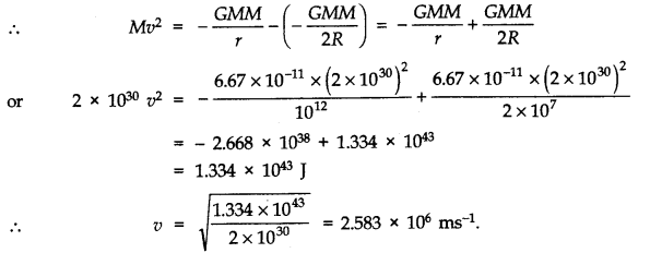 NCERT Solutions for Class 11 Physics Chapter 8 Gravitation Q20