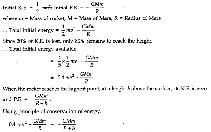 NCERT Solutions for Class 11 Physics Chapter 8 Gravitation Q25