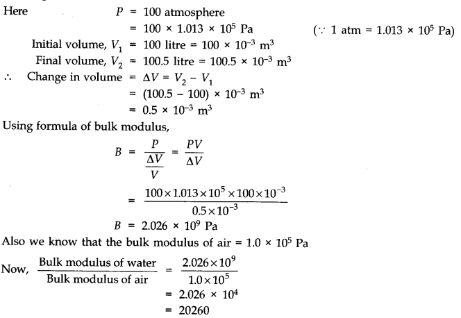 NCERT Solutions for Class 11 Physics Chapter 9 Mechanical Properties of Solids Q12