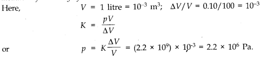 NCERT Solutions for Class 11 Physics Chapter 9 Mechanical Properties of Solids Q16