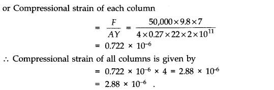 NCERT Solutions for Class 11 Physics Chapter 9 Mechanical Properties of Solids Q7.1