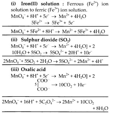 NCERT Solutions for Class 12 Chemistry Chapter 8 d-and f-Block Elements 12