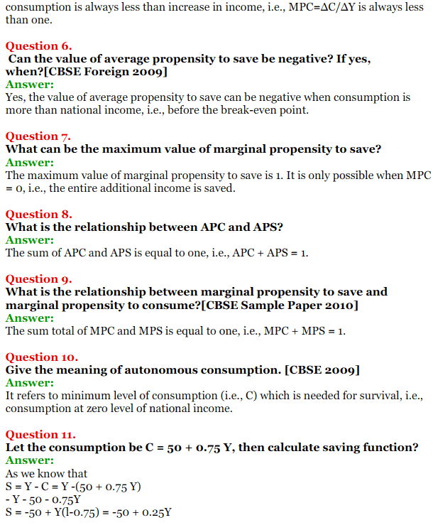NCERT Solutions for Class 12 Macro Economics Chapter 5 Aggregate Demand and Its Related Concepts 4