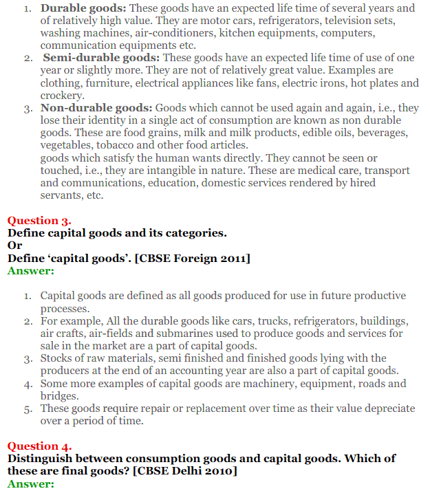 NCERT Solutions for Class 12 Macro Economics Chapter 1 Introduction to Macroeconomics and its Concepts 10