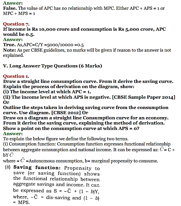 NCERT Solutions for Class 12 Macro Economics Chapter 5 Aggregate Demand and Its Related Concepts 19
