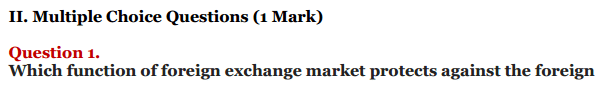 NCERT Solutions for Class 12 Macro Economics Chapter 9 Foreign Exchange Rate 5