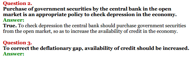 NCERT Solutions for Class 12 Macro Economics Chapter 7 Excess Demand and Deficient Demand 9