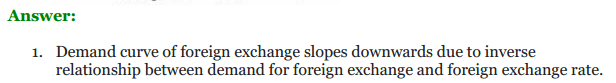 NCERT Solutions for Class 12 Macro Economics Chapter 9 Foreign Exchange Rate 13