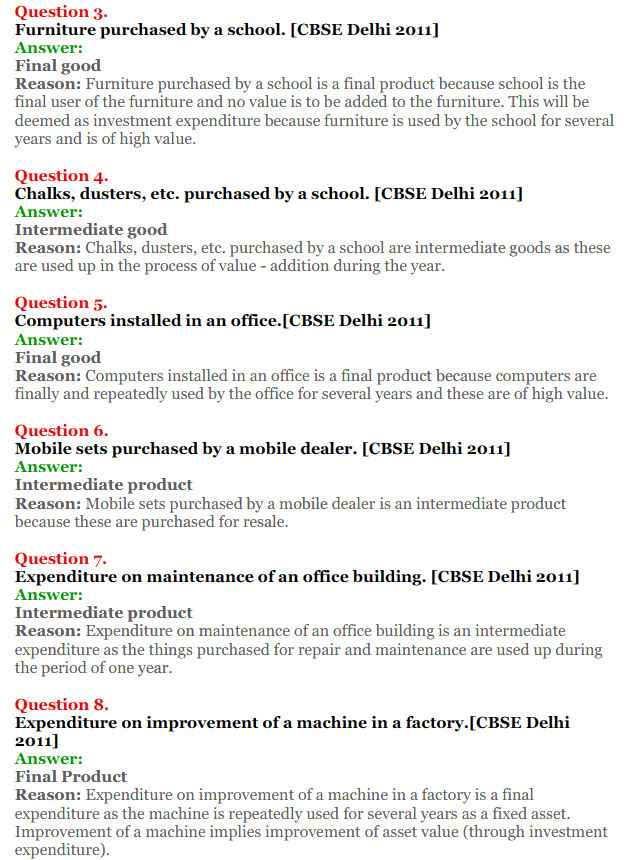 NCERT Solutions for Class 12 Macro Economics Chapter 1 Introduction to Macroeconomics and its Concepts 13