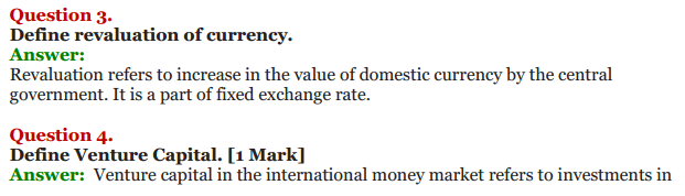 NCERT Solutions for Class 12 Macro Economics Chapter 9 Foreign Exchange Rate 22