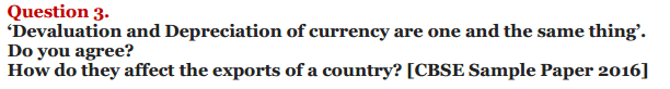 NCERT Solutions for Class 12 Macro Economics Chapter 9 Foreign Exchange Rate 26