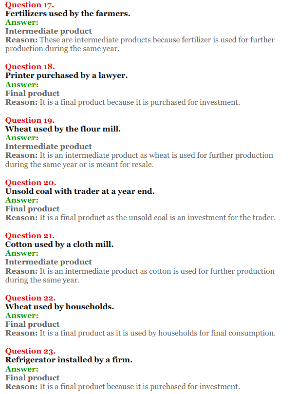 NCERT Solutions for Class 12 Macro Economics Chapter 1 Introduction to Macroeconomics and its Concepts 17