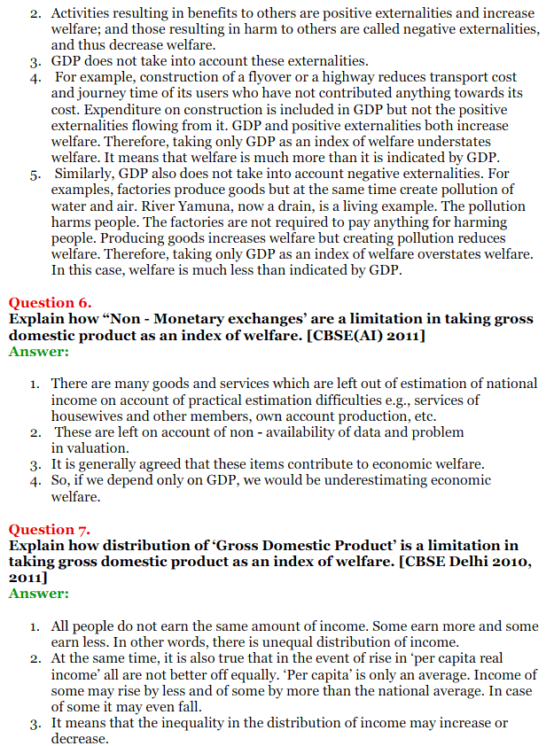 NCERT Solutions for Class 12 Macro Economics Chapter 2 National Income and Relation 22