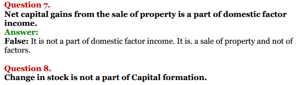 NCERT Solutions for Class 12 Macro Economics Chapter 2 National Income and Relation 27