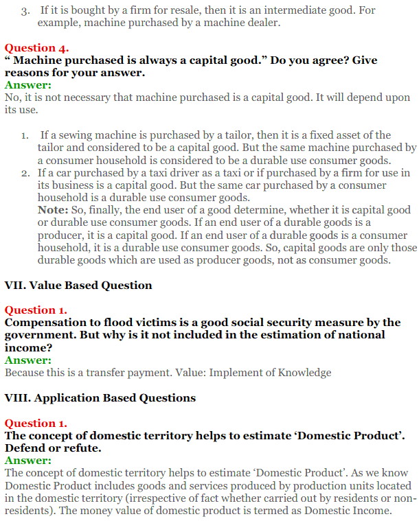 NCERT Solutions for Class 12 Macro Economics Chapter 1 Introduction to Macroeconomics and its Concepts 36
