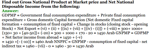 NCERT Solutions for Class 12 Macro Economics Chapter 2 National Income and Relation 41