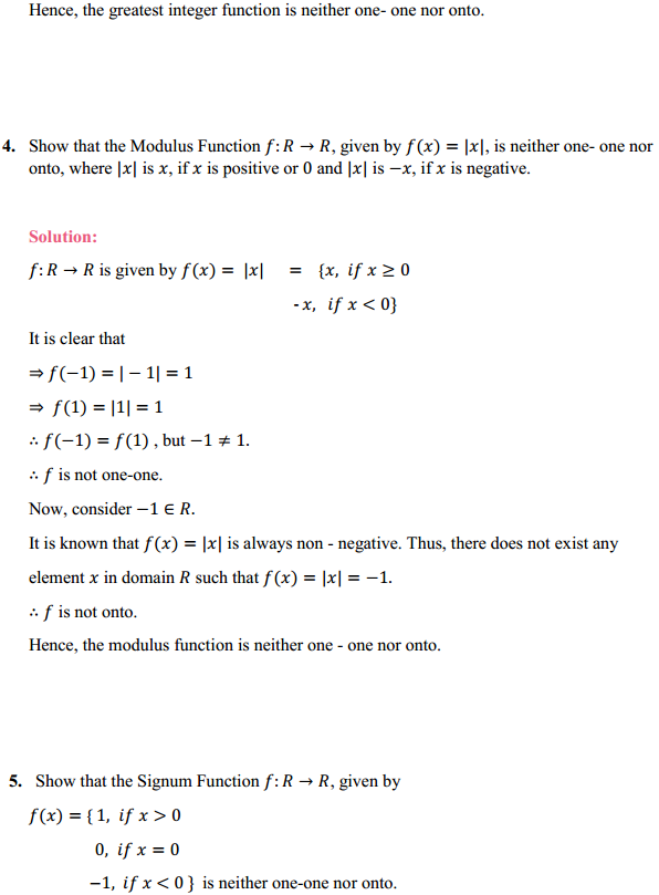 NCERT Solutions for Class 12 Maths Chapter 1 Relations and Functions Ex 1.2 5
