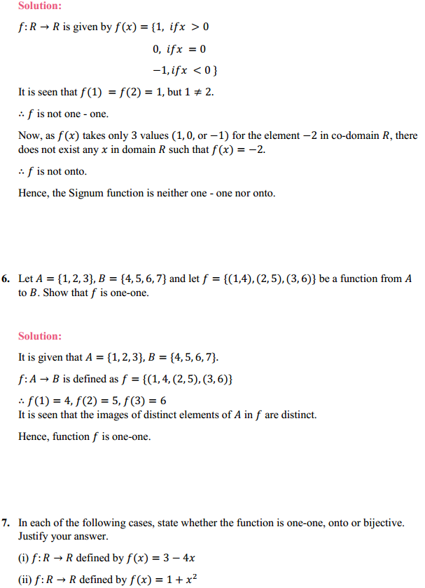 NCERT Solutions for Class 12 Maths Chapter 1 Relations and Functions Ex 1.2 6