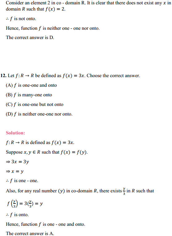 NCERT Solutions for Class 12 Maths Chapter 1 Relations and Functions Ex 1.2 11