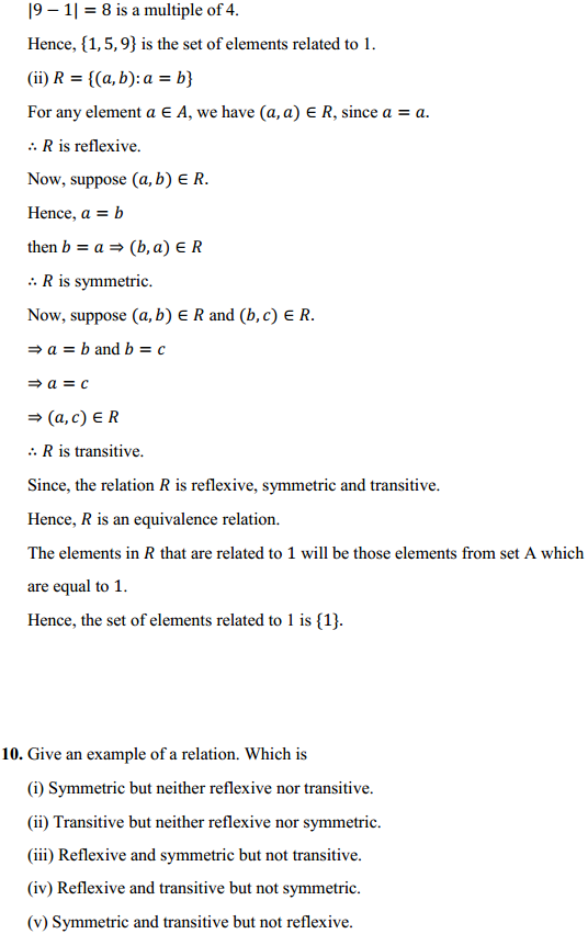 NCERT Solutions for Class 12 Maths Chapter 1 Relations and Functions Ex 1.1 13
