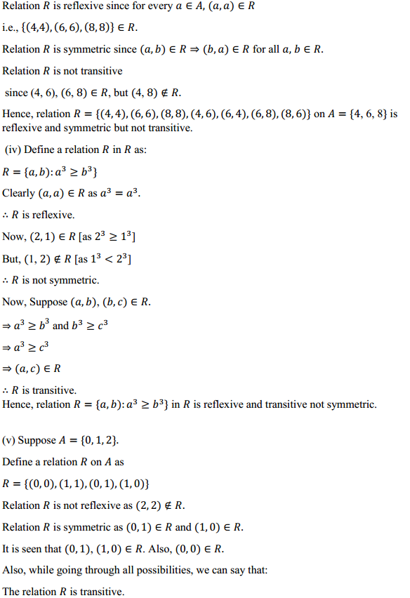 NCERT Solutions for Class 12 Maths Chapter 1 Relations and Functions Ex 1.1 15