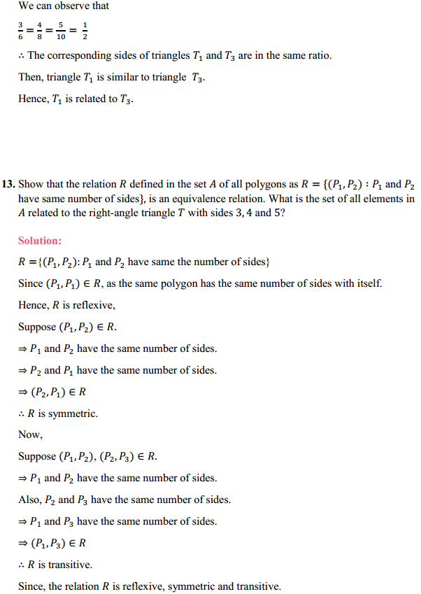 NCERT Solutions for Class 12 Maths Chapter 1 Relations and Functions Ex 1.1 18