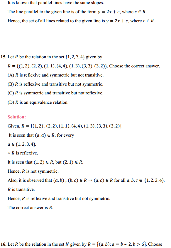 NCERT Solutions for Class 12 Maths Chapter 1 Relations and Functions Ex 1.1 20